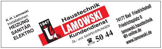 Haustechnik Lamowski